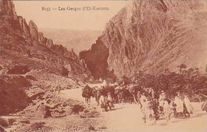 Les Gorges d'El-Kantara, Biskra, Algeria, Africa, 1910-1920s