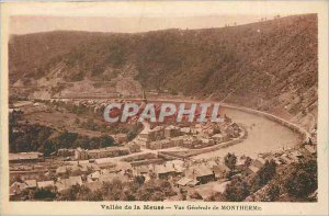Postcard Old Valley of the Meuse General view of Montherme