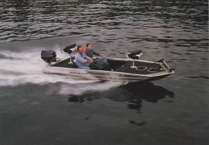 Boat ad, Maxum boat company, Washington, USA, 50-70s ; Model, Spectrum 1709