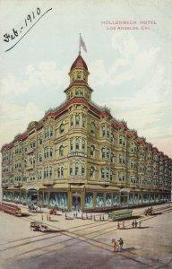 LOS ANGELES , California , 1900-10s ; Hollenbeck Hotel