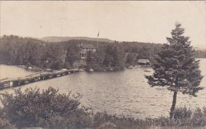 RP, View Of The Lake, LAC CHARLEBOIS, Quebec, Canada, PU-1920