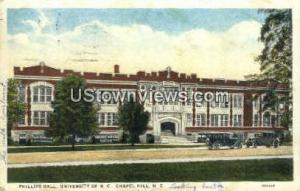 Phillips Hall, University of NC Chapel Hill NC 1927