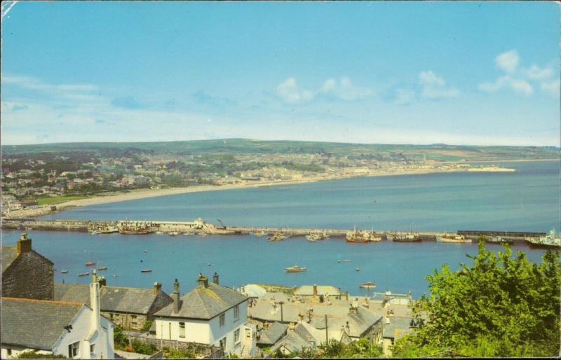 Penzance from Newlyn