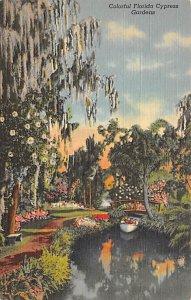 Colorful Gardens at Cypress Gardens FL