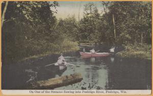 Peshtigo, WIS., On one of the Streams leading into the Peshtigo River-