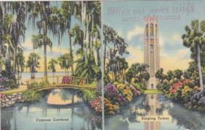 Florida Lake Wales Singing Tower & Winter Haven Cypress Gardens
