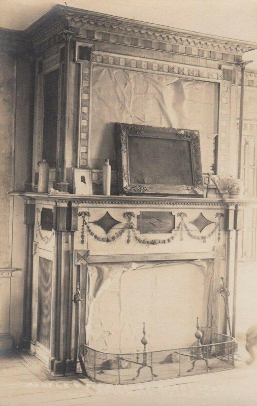 RP; COLUMBIA FALLS , Maine , 1900-10s ; Auggles house Interior #2