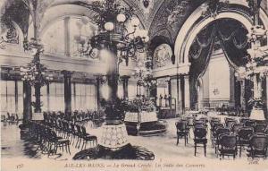 France Aix les Bains Le Grand Cercle La Salle des Concerts