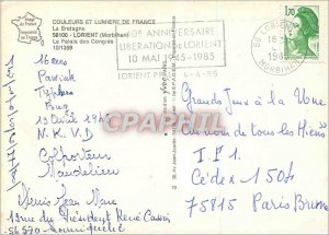 Postcard Modern Colors and Light of France Brittany Lorient (Morblhan) The Pa...