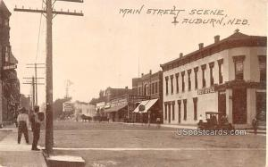 Main Street Auburn NE Unused