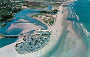 Aerial View Ogunquit Maine Beach Area Postcard PM 1979