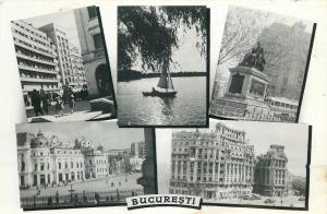 Romania Bucharest multi views 1960s