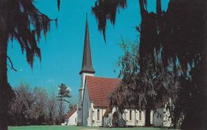 Exterior,  Church of The Holy Cross, Stateburg,  South Carolina,  40-60s