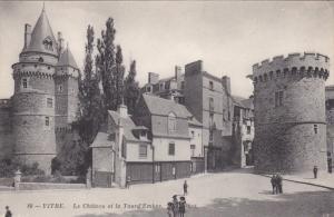 VITRE, Ille Et Vilaine, France, 1900-1910's; Le Chateau Et La Tourd'Embas
