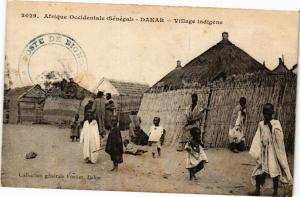 CPA Senegal Fortier 2029. Afrique Occidentale-Dakar-Village indigéne (235125)