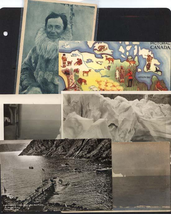 Post Cards - 6 Arctic and Canada Scenes Unused