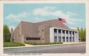 Canton Memorial Auditorium, CANTON, Ohio, 1910-1920s