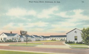DICKERSON , North Dakota , 30-40s ; West Plains Motel