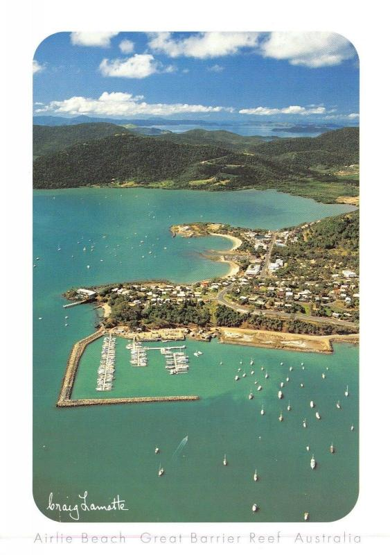 Postcard Airlie Beach, Great Barrier Reef, Australia, Large Format Card H46