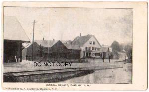 Central Square, Depot, Danbury NH