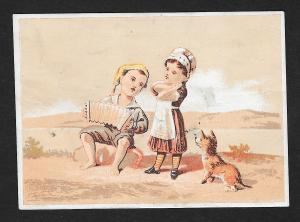 VICTORIAN TRADE CARD H Courtney Drugs Medicines