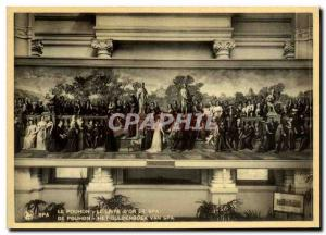 Old Postcard Spa The Spa Pouhon gold book