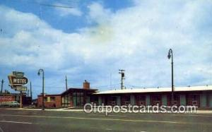 Sands Motel, Detroit, MI, USA Motel Hotel Postcard Post Card Old Vintage Anti...