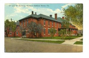 G and O Barracks, National Soldiers' Home, Virginia, 00-10s