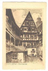 Hezel 'Sche Hof, Dinkelsbühl (Bavaria), Germany, 1900-1910s