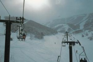 Skiing , PARK CITY , Utah , 50-70s ; Ski lift