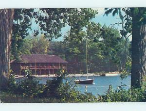 1985 ymca BOATHOUSE Adirondacks - Silver Bay - Lake George New York NY hn4833