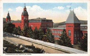 Ponemah Mills, Taftville, Connecticut, Early Postcard, Unused