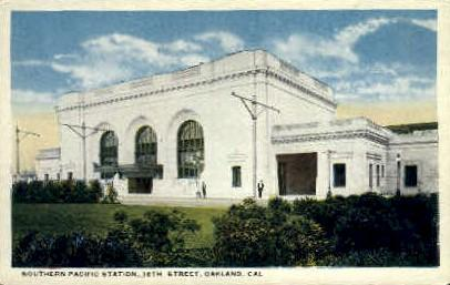 Southern Pacific Station Oakland CA Unused