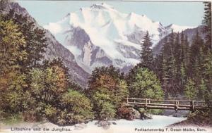 Switzerland Luetschine und die Jungfrau
