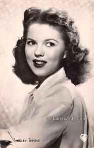 Shirley Temple Movie Star Actor Actress Film Star Unused