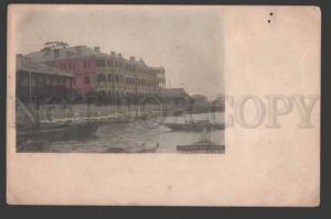 116188 Japan NAGASAKI Hotel Nagasaki Vintage tinted POSTCARD