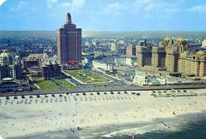NJ - Atlantic City, Aerial View