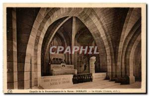 Dormans - Chapel of Reconnaisance of the Marne - The Crypt Old Postcard