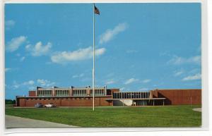 Hillcrest High School Springfield Missouri 1960s postcard