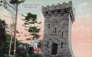 Vermont Burlington Ethan Allan Tower 1911