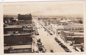 Nebraska Scottsbluff Main Street Scene Coca Cola Sign 1926 Real Photo