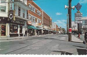 La rue Des Cascades , ST_HYACINTHE , Quebec , Canada , 40-60s