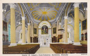 BARDSTOWN , Kentucky, 1910s-30s ; St Joseph's Proto-Cathedral