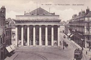 DIJON, Le Theatre, Street Car, Cote d'Or, France, 00-10s