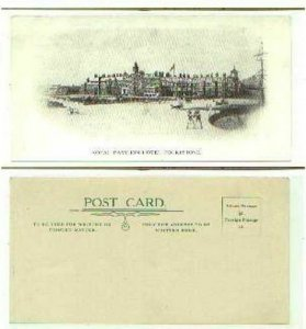 pc786 postcard UK Folkstone Royal Hotel Early Mint