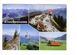 Fiveview, Train, Cable Car, Stanserhorn, Austria