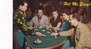 Black Jack Card Game, Hit Me Easy! , Nevada , 50-60s