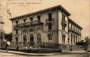 CPA LUXEUIL-les-BAINS - Hotel Metropole - construit en 1906 (292344)