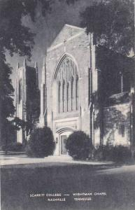 Tennesse Nashville Scarritt College Wightman Chapel