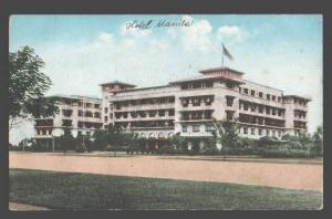098041 Philippines MANILA Manila Hotel Vintage PC